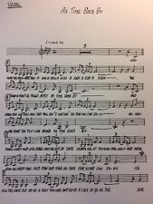 AS TIME GOES BY - 17 PART BIG BAND VOCAL - KEY OF Ab to A
