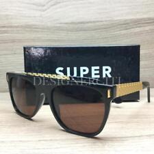 Super by RetroSuperFuture S0V/R Sunglasses Flat Top Francis Sciuro Gold 55mm