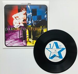"""PAUL WELLER 'The Changing Man' 7"""" Four -Track EP 1995 Go! Discs Ltd GOD 127 NM"""
