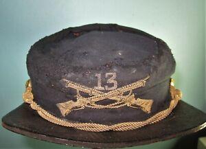restored US 1880 visor cap Hat mutze kradchen helmet shako kepi