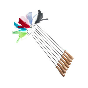 Pets Cats Interaction Telescopic Feather Cat Rods Stick Decompression Cat Toys