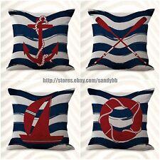 US Seller-4pcs wholesale pillowcases cushion covers American flag patriotic