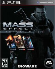 PLAYSTATION 3 PS3 GAME MASS EFFECT TRILOGY 1, 2, AND 3 BRAND NEW AND SEALED