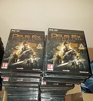 Deus Ex Mankind Divided STEELBOOK PC - D1 Day ONE Edition / Region Free RARE