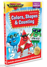 ROCK n LEARN - Colors, Shapes & Counting - Award Winning Educational DVD (NEW)