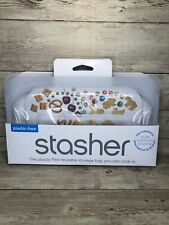 Stasher Reusable Silicone Food Snack Bag Women Owned Business! New
