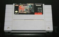 Contra III the alien wars version américaine SNES Super Nintendo NTSC