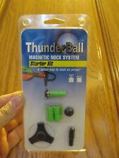 Thunderball Super-Uni Starter Kit in Green - Magnetic Nock for Archery Arrow
