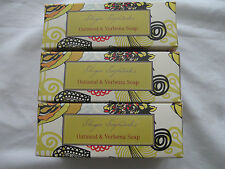 Shugar Soapworks Oatmeal Verbena Soap 3 Bars 7oz ea  No Dyes or Parabens