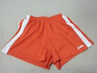 Womens asics Shorts S Small Orange Athletic