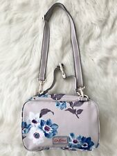 Cath Kidston Baby Nappy Changing Bag Pouch Anemone Bouquet Blue Beige Kidson