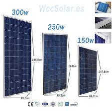 Placa solar 150w 250w 300w Panel Solar Fotovoltaico Polycrystalline