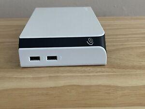 8TB Seagate external game drive White