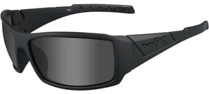 Wiley X Twisted Men's Matte Black Sunglasses w/ Smoke Grey Lens - SSTWI01