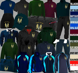 D SQUADRON 22 SAS SPECIAL AIR SERVICE T POLO RUGBY SHIRT HOODY CAP FLEECE JACKET