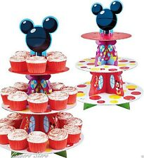 Mickey Mouse Cupcake Treat Stand Centerpiece Birthday party Supplies Decoration