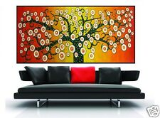 240cm x 120cm TREE OF LIFE flower original inspired art painting  COA