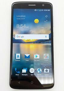 ZTE Blade Spark 16GB Dark Gray AT&T Smartphone Fair Condition