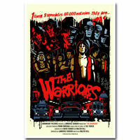 F-109 THE WARRIORS Classic Movie Hot Poster - 36 27x40in - Art Print