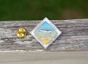 15th Anniversary Northwest Aviation Trade Show Conference Airplane Pin Pinback