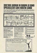 X7797 Scuola Radio Elettra - Torino - Pubblicità 1976 - Vintage Advertising