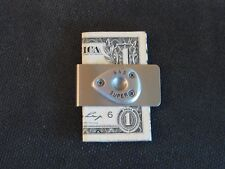 """S & S Super """"E-B"""" Carb Cover Pin Money Clip """"Great Gift"""""""