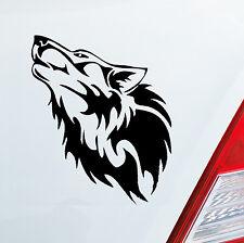 Auto Aufkleber WOLF Wölfe Hund Heulen Tier Sticker Animal heulen DUB OEM JDM 688
