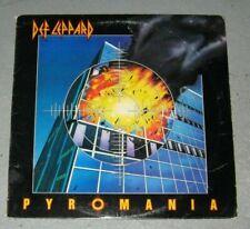 Def Leppard Pyromania Lp Original Heavy Metal 1983 Hard Rock Vinyl Nwobhm