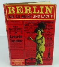 Buch: Berlin wie es weint und Lacht,Lied der Zeit Musikverlag 1968  /rebu002