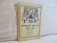 T S F téléphone sans fil chez soi par J. Brun