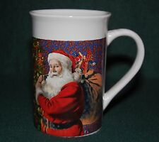 Royal Norfolk Santa Claus Christmas Tree Design Coffee Mug / Tea Cup