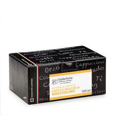 100 capsule Nocciolino - Caffè Nocciola Cialdeitalia - compatibili NESPRESSO