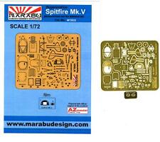 Marabu Models 1/72 SUPERMARINE SPITFIRE Mk.V Photo Etch Detail Set