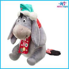 "Disney Winnie the Pooh's Eeyore 12"" Christmas Holiday Plush Doll brand new"