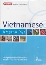 Berlitz Vietnamese For Your Trip Audio CD *IN STOCK IN MELBOURNE - NEW*