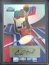 2003-04 Topps Finest Refractor Auto Jersey #157 Chris Bosh No 68 of 250