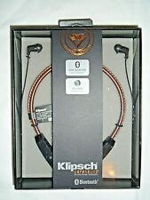 "Klipsch Reference R5 In-Ear Wireless Headphones - Brown  ""NEW"""
