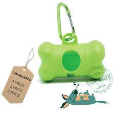 EcoJeannie Dog Poop Bag Dispenser with Stainless Steel Carabiner Clip - PB0007
