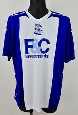 FC BIRMINGHAM CITY Home Shirt Adult 2XL Men's 2007/2008 Jersey Football VTG XXL