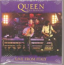 "QUEEN + PAUL RODGERS ""Live From Italy"" 2Track US Cardsleeve PROMO CD RARE sealed"