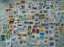NICE SELECTION KILOWARE RECENT STAMPS ON PAPAER WORLD GOOD QUALITY START 0.99$