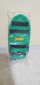 "The Spooner Free Style Blue New 22"" x 11"" Skating Ski Surfing Balance Board"