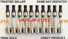10 X CLEAR=ATOMIZER=CLEAROMIZER=ATOMISER=CLEAROMISER**