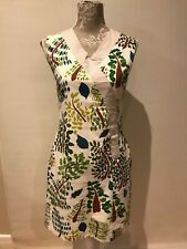 Dot and Herbey floral dress. Fully lined. Size 10