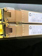 Lot Of 5 HP JD089B FCLF-8521-3-HZ X120 1G SFP RJ45 T Transceiver Module