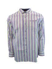 New Mens Tommy Bahama Lanai of the Tiger Long Sleeve Striped Shirt Medium