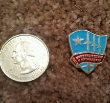 USSR SOVIET Pin Badge Russian Aeroflot Aviation Missels Bombs Plane