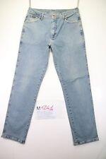 Wrangler Texas Stretch (Cod. M1241) tg 50 W36 L34 jeans Usato vita alta Vintage