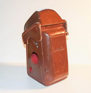 Rollei Ever-Ready Leather Case with ELF Cover for 3.5T, 3.5E Cameras