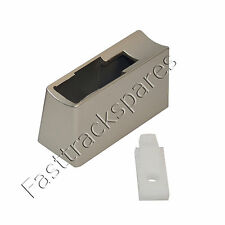 Refrigerator Door Handle Pedestal Mount with Insert Kit Stainless Steel: 1450206